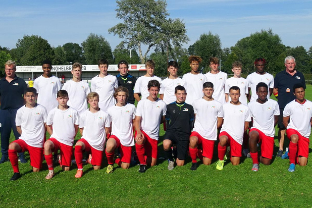 De U18 van KV Oostende wint oefenwedstrijd tegen SK Eernegem