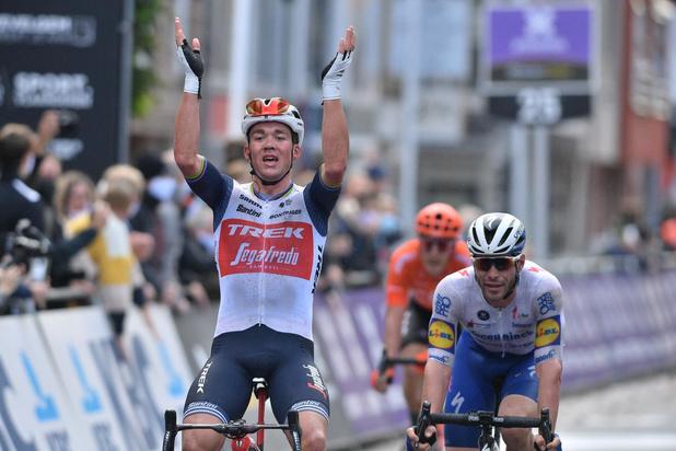 Ex-wereldkampioen Mads Pedersen sprint naar zege