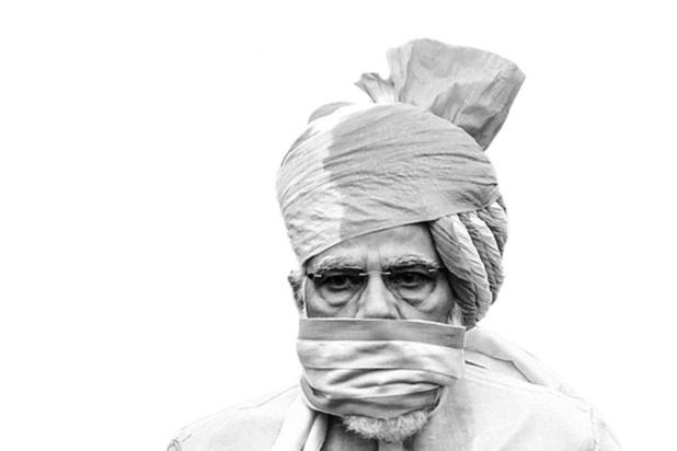 Narendra Modi - Legt het af door corona