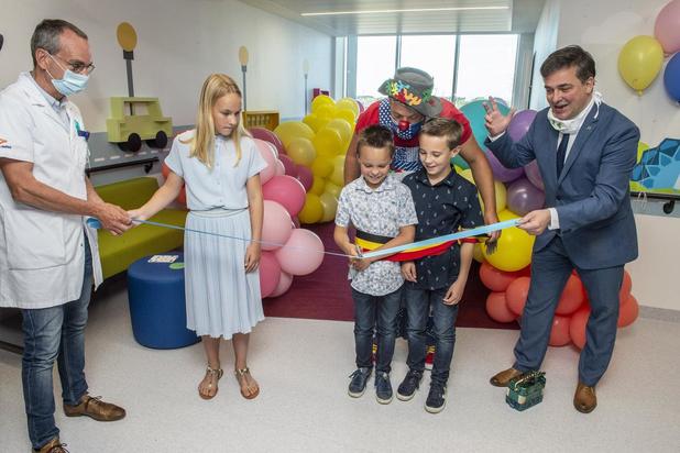 Eerste kindjes en mama's arriveren op gloednieuwe kinderafdeling van AZ Delta Roeselare