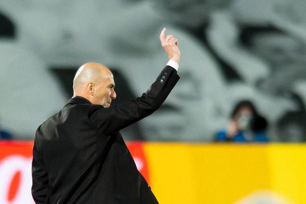Zidane part la tête haute