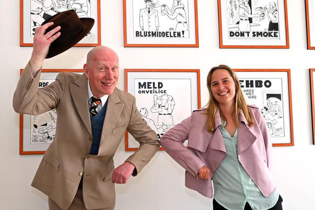 Cowboy Henk zet als 'Safe Henk' veiligheid in de Oostendse haven in de kijker