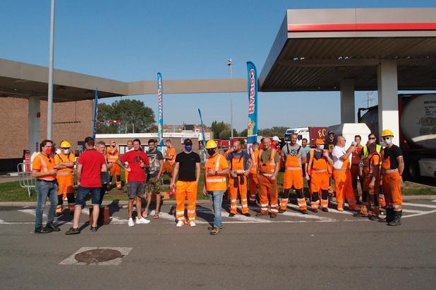 Havenarbeiders protesteren in stilte tegen aanval op Wet-Major