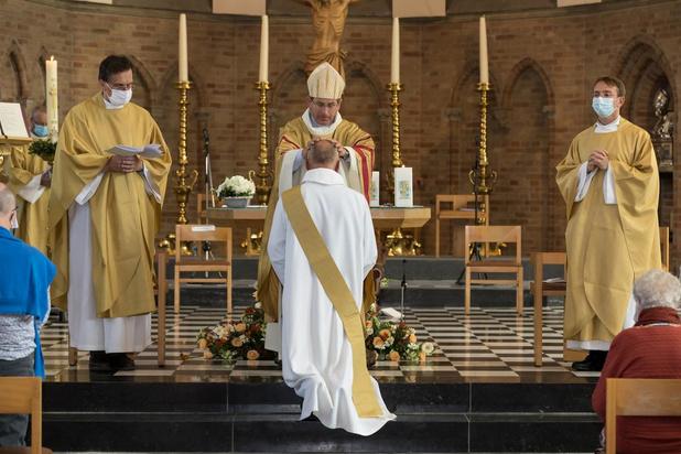 Christophe Ghesquière tot priester gewijd