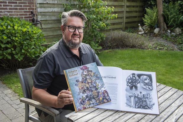 Striptekenaar Jimmy Hostens uit Roeselare tekent striphelden met erotisch tintje