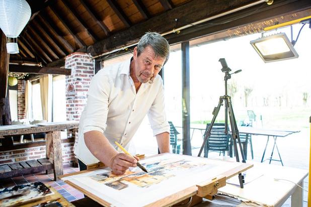 Brugse aquarellist Paul Van Cleven geeft online lessen
