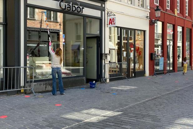 Brugse winkels maken zich op voor heropening