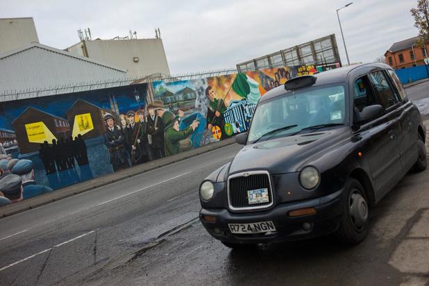 Anekdotes uit de oude doos: onze man onder vuur in Noord-Ierland