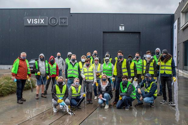 Firma Visix ruimt industriezone in Beveren op