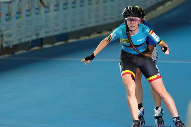 Sandrine Tas overtuigt bij sprint op de skeelerpiste