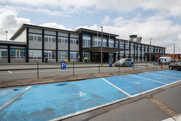 Steeds minder vluchten voor luchthaven Oostende