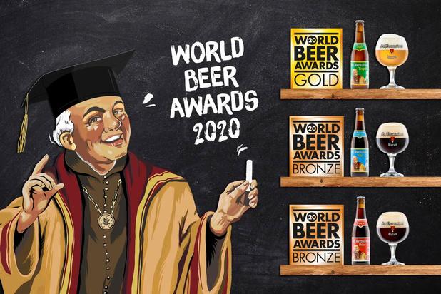 Opnieuw medailles voor brouwerij St.Bernardus op World Beer Awards