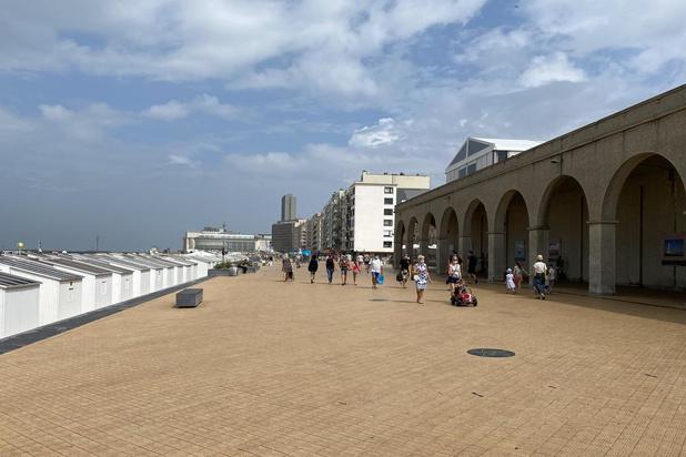 Nooit eerder zo rustig in Oostende op 15 augustus
