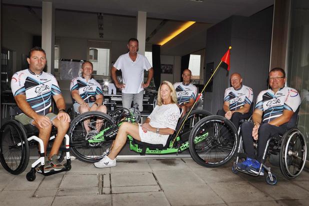 Horecazaak De Reygaerd helpt The Spirit of Handcycling aan nieuwe handbike