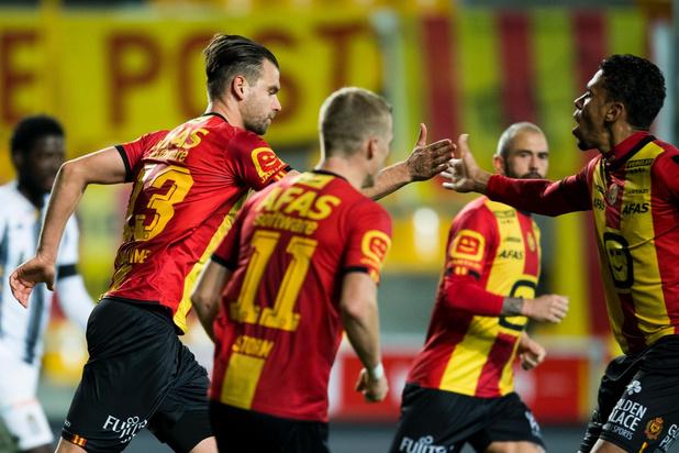 KV Mechelen en Charleroi spelen 3-3 gelijk