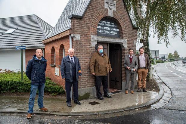 Historische uitleg aan Schuwe Maandagkapel in Roeselare