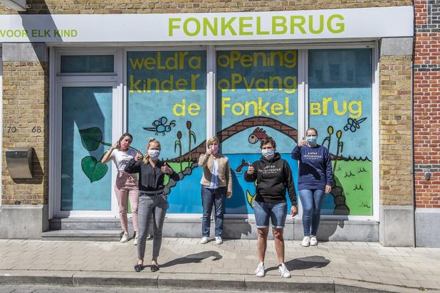 Kinderdagverblijf 'Fonkelbrug' start op maandag 18 mei in Roeselare