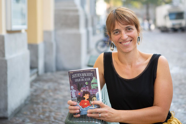 """Brugse Sofie Leyts: """"Wist al op mijn zesde dat ik schrijfster wilde worden"""""""