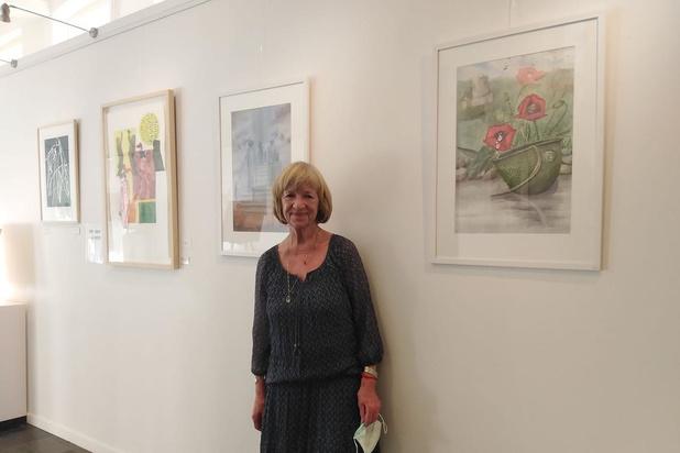 78-jarige ingeweken Brugse vindt inspiratie voor tentoonstelling bij Covid-19