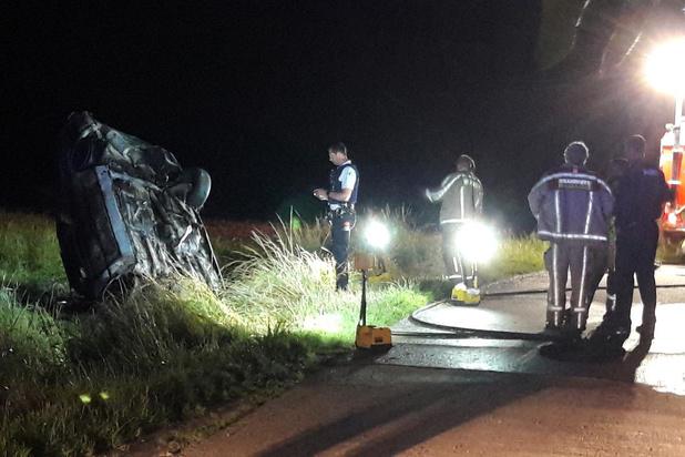 Zware verkeersongevallen in Vleteren en Veurne