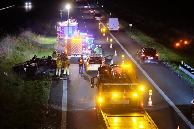 Zwaar ongeval op de E40 met hinder richting Frankrijk