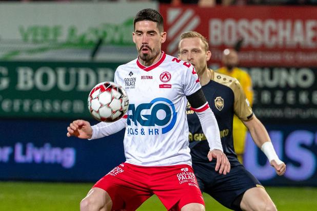 Domper voor KV Kortrijk: Stojanovic zes weken out met hamstringblessure