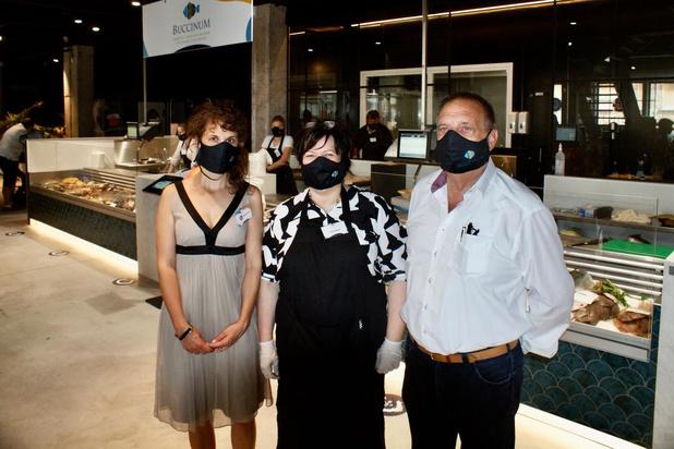 Eerste zaak in de Oostendse Fish & Food Market 'De Cierk' geopend