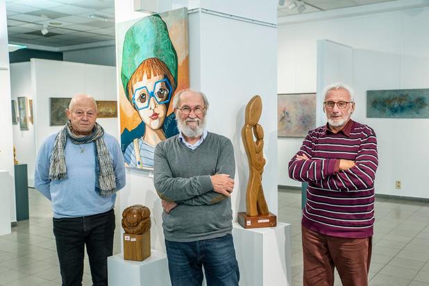 Drie Rumbeekse kunstenaars exposeren samen in Galerie Blomme