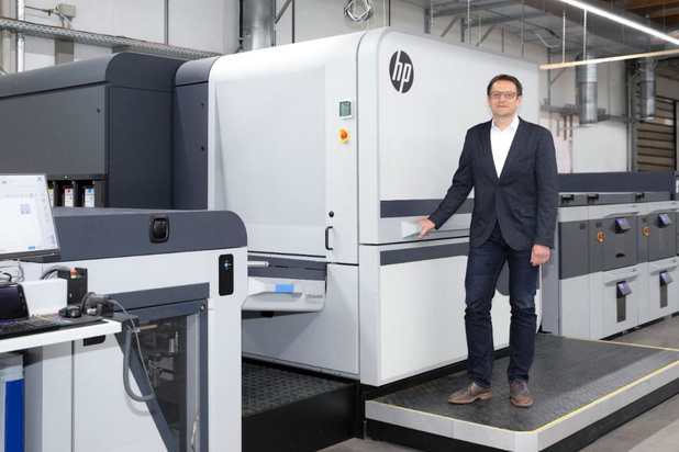 La première HP Indigo 100K est pour Onlineprinters