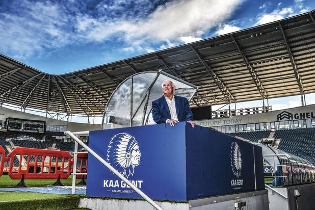 Ivan De Witte (KAA Gent): 'Het is aan de top van de club dat het gebeurt, de rest is een vervolg'