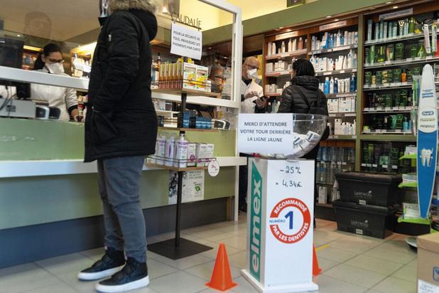 Les pharmaciens sur le front du coronavirus