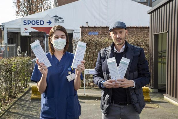 'Oostendenaar' Maarten Makelberge (Omnilevel) schenkt 3.000 mondmaskers aan AZ Delta