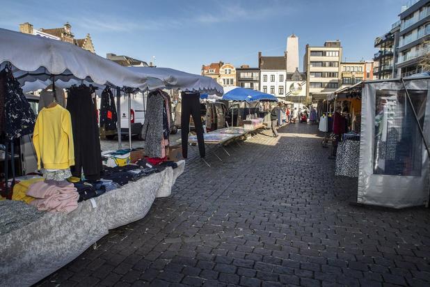 Roeselare voorbereid om dinsdagmarkt opnieuw te laten plaatsvinden