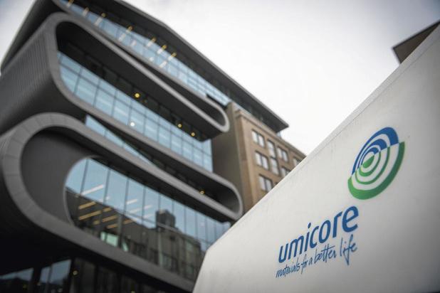 Résultats records pour Umicore qui se cherche un nouveau CEO