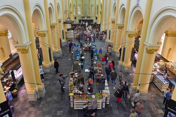 Lokaalmarkt in Sint-Amandskerk in Roeselare biedt onderdak aan verenigingen