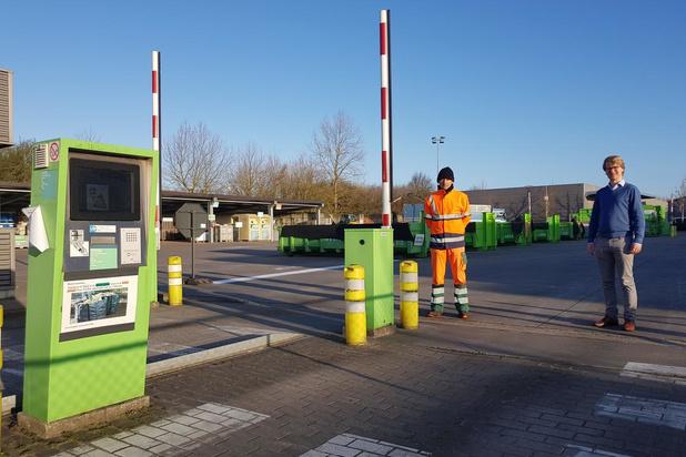 Schepen Brecht Warnez vindt reservatiesysteem recyclagepark geen goed idee