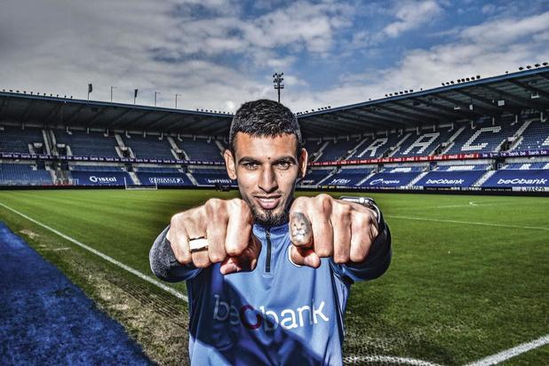 """Rencontre Daniel Muñoz, le roc de Genk: """"Je suis passé d'encourager l'équipe à en faire partie"""""""