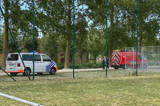 Spelende kinderen veroorzaken brand in Koolkerke