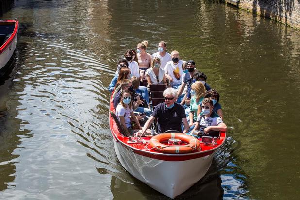 Rondvaarten op de reitjes in Brugge terug opgestart