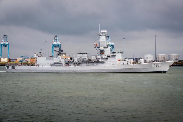 Belgisch fregat met jongste bemanning ooit vertrekt op internationale oefening