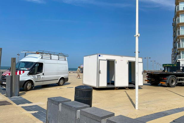 Mobiele toiletten in Middelkerke en Westende