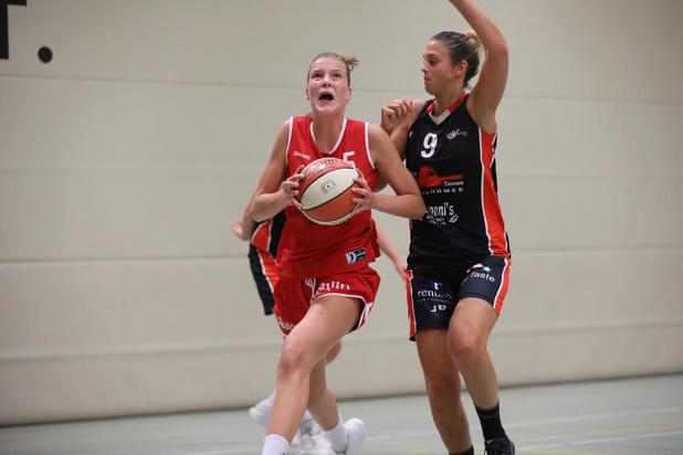 ION Basket Waregem verdienstelijk onderuit tegen Spirou Ladies Charleroi