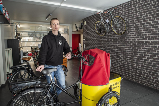 Nieuwe fietsenzaak Veloman gaat in Rumbeke van start achter gesloten deuren