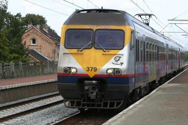 Dit weekend geen treinen tussen Brugge en Gent