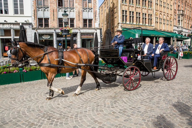 Toeristenkoetsen rijden opnieuw uit in Brugge