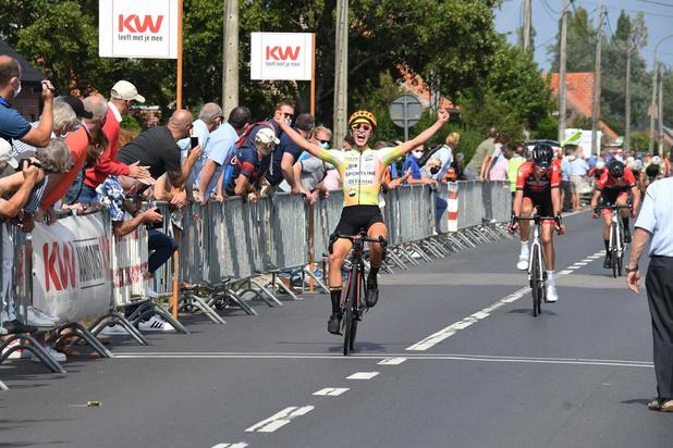 Yaurick Leenknegt heeft de snelste benen in Langemark