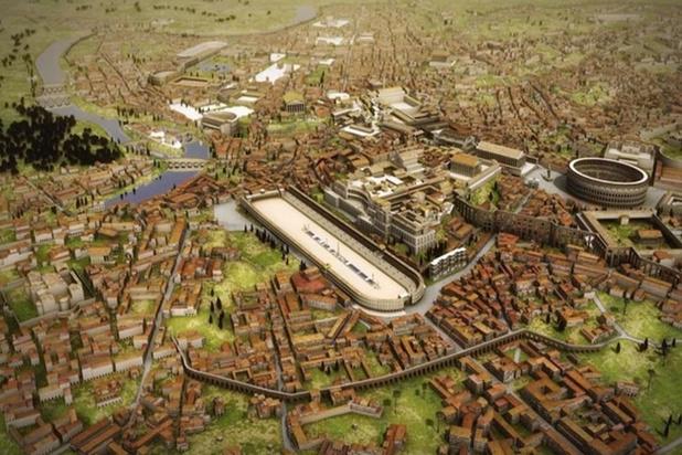 Video: zo zag Rome eruit in het jaar 320