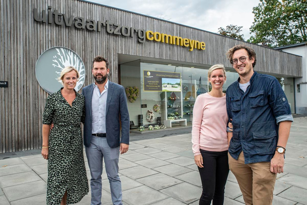 Gezondheidscentrum en restaurant in de plaats van Uitvaartzorg Commeyne in Roeselare
