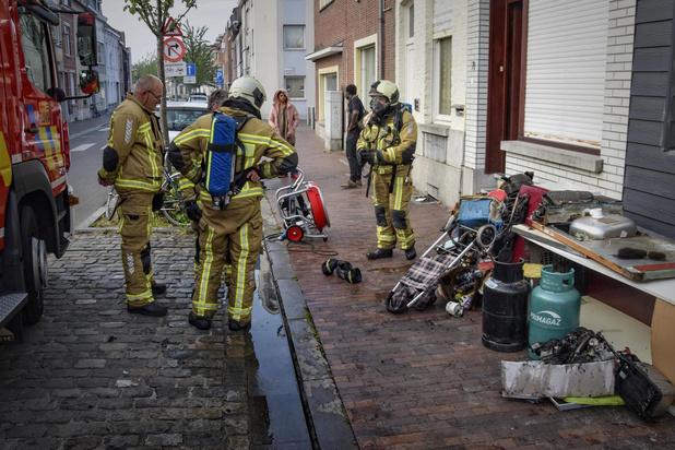 Brand in kelder van woning snel onder controle