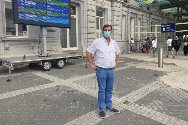 Bart Tommelein keert op zijn stappen terug, station Oostende blijft open
